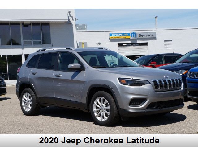 Pre-Owned 2020 Jeep Cherokee Latitude