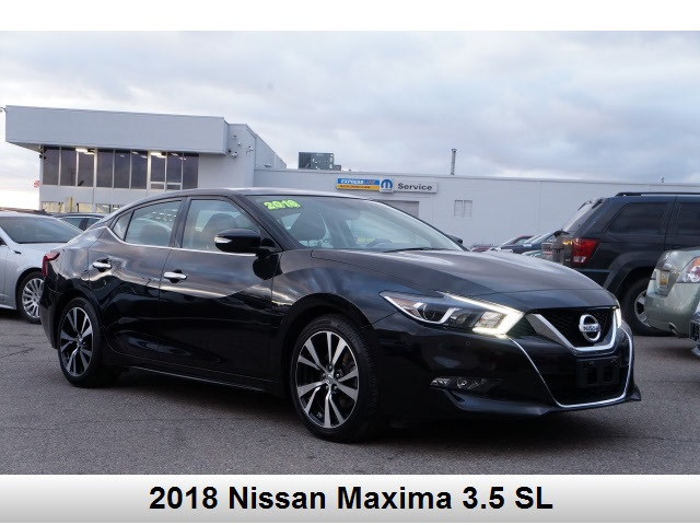 Pre-Owned 2018 Nissan Maxima 3.5 SL
